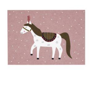 zirkuspferd-postkarte-avaundyves