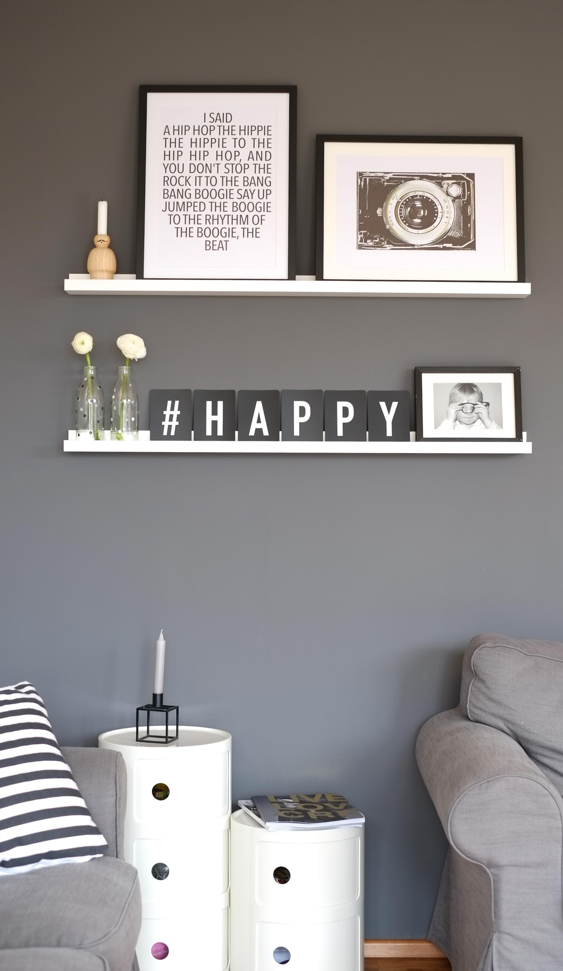 ... Graue Wand Im Wohnzimmer