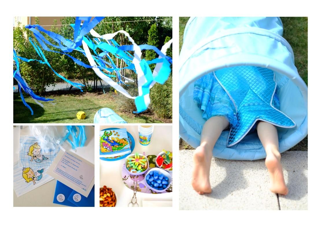 kindergeburtstag-meerjungfrau-einladund-dekoration