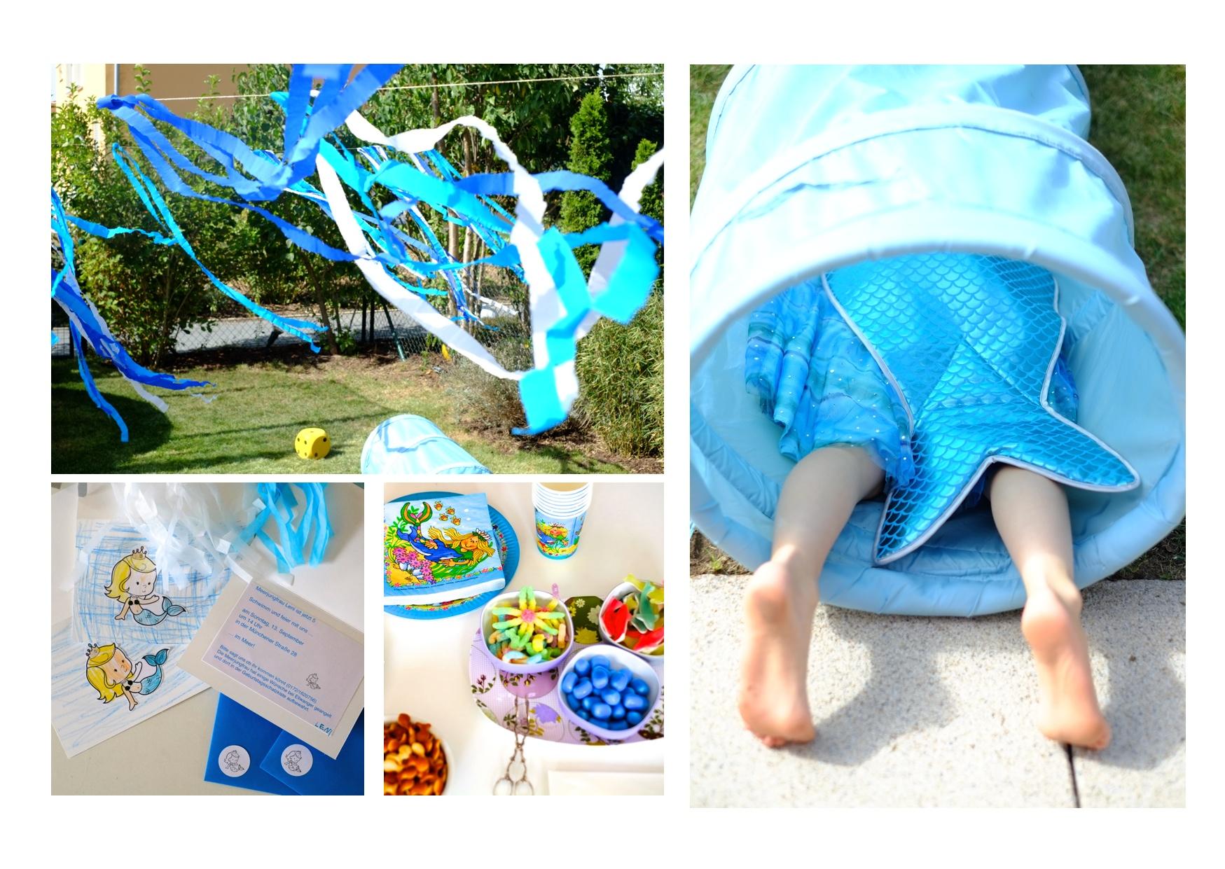 Die Kleine Meerjungfrau Feiert Geburtstag Herr Und Frau Krauss