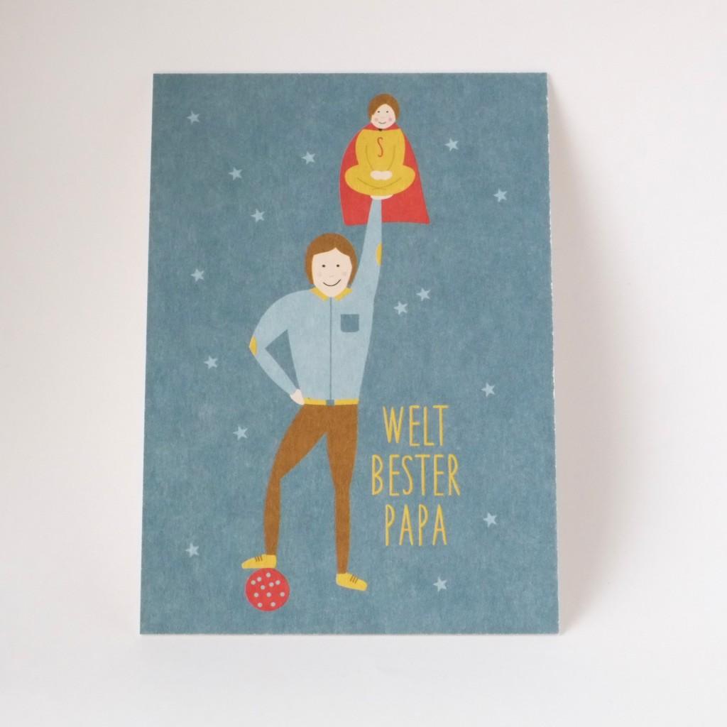 postkarte-welt-bester-papa