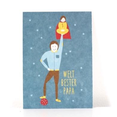 postkarte-weltbester-papa-junge-avaundyves