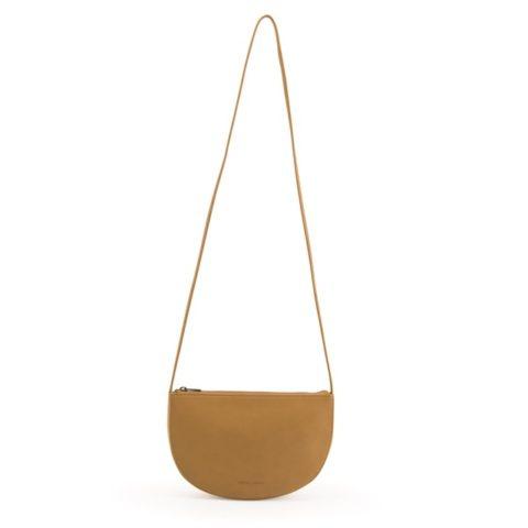 farou-half moon bag-caramel-fudge