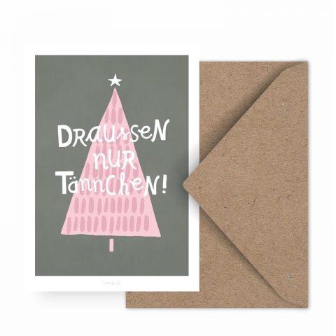 typealive-weihnachtskarte-draussen-nur-taennchen-herrundfraukrauss-onlineshop