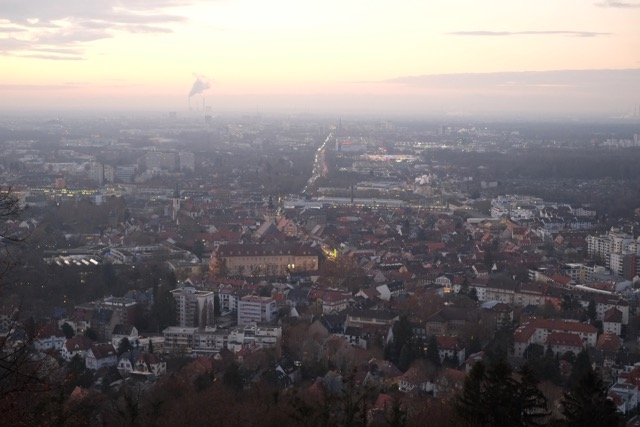 Karlsruhe-blick-vom-turmberg