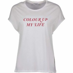 t-shirt-weiss-rote-schrift-colour-up-my-life-redraft-herrundfraukrauss-onlineshop