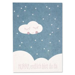 postkarte-geburt-hurra_blau-avaundyves-herrundfraukrauss-onlineshop