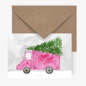 Weihnachtskarte-truck-typealive-herrundfraukrauss-onlineshop