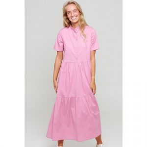 noella-lipe-long-dress-short-sleeve-pink-sommerkleid-rosa-herrundfraukrauss-onlineshop
