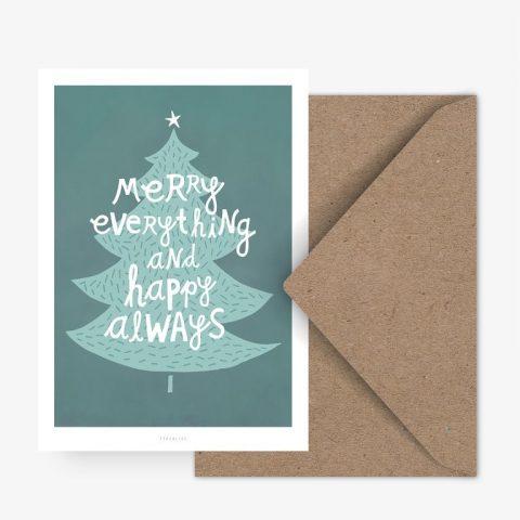 postkarte-weihnachten-tanne-typealive-herrundfraukrauss-onlineshop