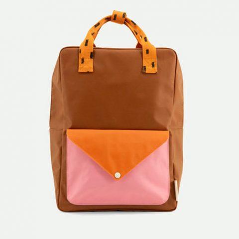 rucksack-sticky-lemon-backpack-sprinkles-braun-pink-orange-herrundfraukrauss-onlineshop