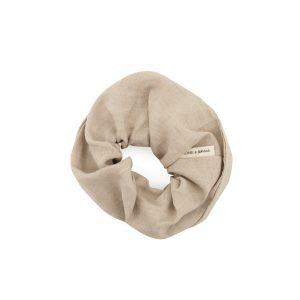 scrunchie-haargummi-kariert-sea-shell-beige-weiss-leinen-monk-and-anna-herrundfraukrauss-onlineshop